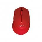 souris-logitech-optique-sans-fils-m330-silent-plus-rouge-910-004911
