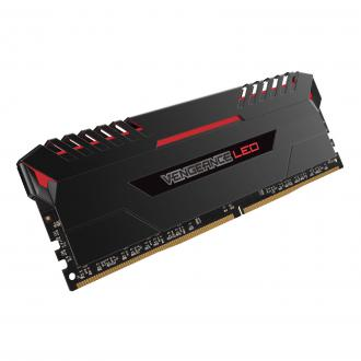 memoires-corsair-vengeance-led-rouge-ddr4-8-go-2666-cl16-cmu8gx4m4a2666c16r